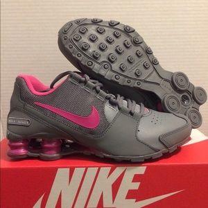 New Nike Shox Avenue Grey Pink Women's